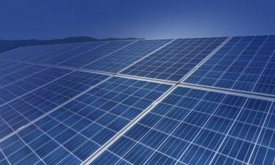 Solpaneler sparar på energianvändningen