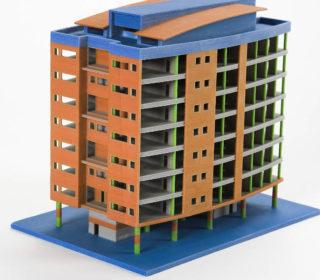3D-printad modell
