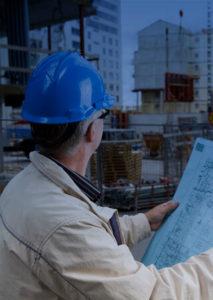 Projektledare driver ett byggprojekt